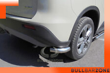 SUZUKI VITARA II 2015+ TUBI PROTEZIONE POSTERIORI IN ACCIAIO LUCIDO INOX