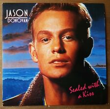 """Jason Donovan - Sealed With A Kiss / Just Call Me Up - 7"""" Vinyl Single 1989"""