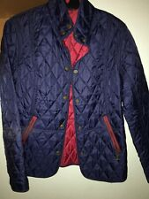 Barbour Lightweight Navy Jacket New Size 10