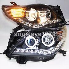 LED Headlights for Toyota Prado 2700 FJ150 LED Angel Eyes Lights 2009-2013 year