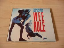 3 Inch Maxi CD The Wee Papa Girl Rappers - Wee Rule - 1988