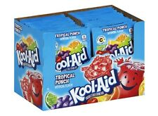 10 TROPICAL PUNCH Kool Aid Drink Mix Vitamin C popsicle fun