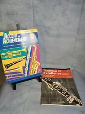 2 Beginners Clarinet Band Books