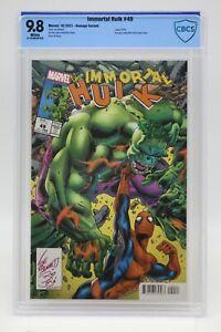 Immortal Hulk (20218) #49 Bennett AMS #328 Homage CBCS 9.8 Blue Label White Pgs