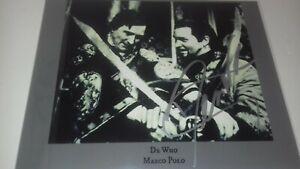 doctor who derren nesbitt marco polo 10x8 autograph photo