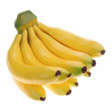 Bunch Banana Artificial Plastic Fake Fruits Decor Home Party Photograph Prop