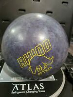 BRUNSWICK RHINO OPTIMA BOWLING BALL 12.6 pounds