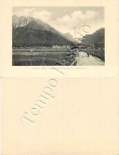 Cartoncino di Dobbiaco, panorama - Bolzano