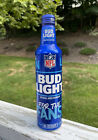 BUD LIGHT NFL KICKOFF 2021 FOR THE FANS ALUMINUM BEER BOTTLE EMPTY* Football Can