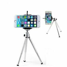 Aluminum Metal Silver Tripod Stand Mount+Phone For Digital Camera &Mobile{a2}