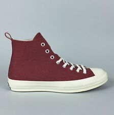 New Converse CTAS 70 Hi Top Sneaker Size 10.5 Men's Wool Terra Red 157482C