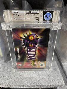 Legend of Zelda: Majora's Mask CE WATA 9.2 A+ Nintendo 64 N64 Factory Sealed New