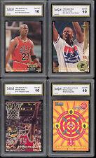 6 CARD LOT MICHAEL JORDAN W 1984 OLYMPIC RC XRC ROOKIE BASKETBALL GEM MINT 10 #1