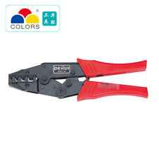 """HS-35WF 10-35mm2 8-2AWG 9"""" Crimping Pliers for insulated non-insulated ferrules"""
