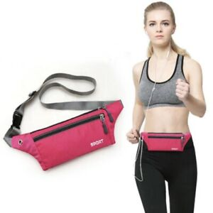 Brimat Sports Running Zipped Running Belt for iPhone and Android. Bum Bag.