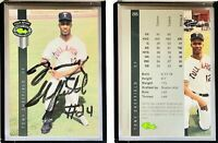 Tony Sheffield Signed 1992 Classic Four Sport #265 Card Boston Red Sox Autograph
