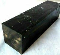 Gaboon Ebony Hardwood 1.5x1.5x6 Knife Tool Door Handles Cues Woodturning Timber