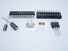 Kit arduino uno r3 ATmega328P-PU con socket e quarzo 16mhz LM7805 e condensatori