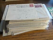 WOW! Huge lot of 100 EDUCATION Postal History Covers COLLEGE 1889+ AWESOME!