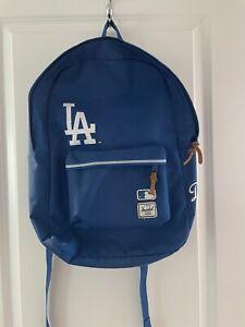 Herschel Supply Co LA Dodgers Backpack With Laptop Pocket.