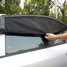 2pcs 50x98cm Black Car Side Window Sun Shade Curtains UV Protection Accessories