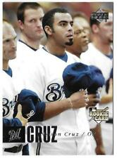 2006 Upper Deck NELSON CRUZ RC Rookie Card Seattle Mariners #258