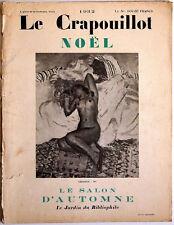 LE CRAPOUILLOT, Noël 1932 - Le Salon d'Automne