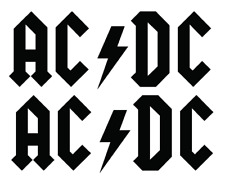 AC/DC DECALS QTY (BUY 1 GET 2) Free shipping Die Cut