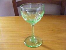 Uranium Art Deco Date-Lined Glass (c.1910-c.1939)