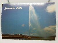Vintage Postcard from Petley Studios Unused FOUNTAIN HILLS ARIZONA