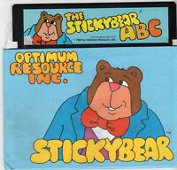 ITHistory (1984) Software: StickyBear ABC (Commodore 64) (Optimum Resource)