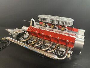 1/4 Scale V12 Nitro Powered working Engine