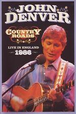 JOHN DENVER - COUNTRY ROADS - LIVE IN ENGLAND 1986  DVD NEW+