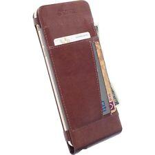 Krusell Tasche Kalmar WalletCase 76039 für Apple iPhone 6 Plus - Braun