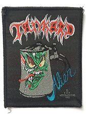 TANKARD Alien Old OG Vtg 1990 Woven Sew On Patch Aufnäher/écusson Thrash Metal