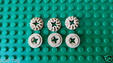 Lego Technic 12 Tooth Bevel Gear p/n 6589 z12  x  6  *******NEW*******