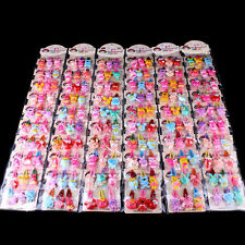 20pcs/Set Girls Hairpin Mixed Assorted Baby Kid Children Cartoon Hair Pin Clips