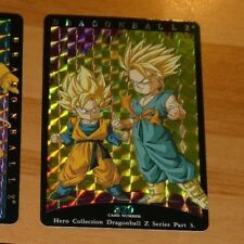 DRAGON BALL Z DBZ HERO COLLECTION PART 3 CARD RARE PRISM CARTE 320 MINT NEUF