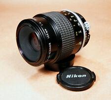 Nikon Micro-Nikkor 105mm f/4 Telephoto Macro AI Mount F Lens - NICE!