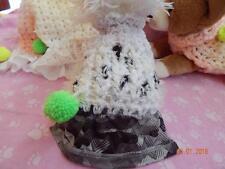 XXXS Dog Apparel DALMATION HAVE A BALL Dress w/SILKY SKIRT