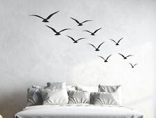 Wandtattoo Wandaufkleber Aufkleber Schlafzimmer Traum Möwen Vogel Strand Meer 33