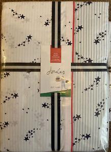 BNWT RRP £110 Joules KING SIZE Shooting Stars Duvet Cover Set + 2 Pillowcases