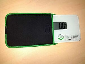 NewlineNY Super Mini Travel Scale with Protection Sleeve:SBB0638SM-WH+S001MG