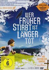 WER FRÜHER STIRBT IST LÄNGER TOT (Fritz Karl) NEU+OVP