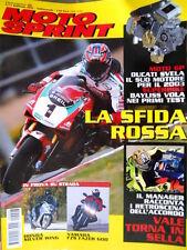 Motosprint 6 2002 Rossi torna in sella. Prova Honda Silver Wing, Yamaha FZS Q78]
