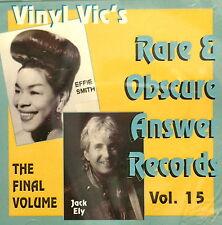 VINYL VIC'S 'Rare & Obscure Answer Records' - Vol# 15 - 28 VA Tracks
