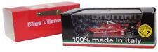 Brumm Ferrari 126C #2 Test Imola Italian GP 1980 - Gilles Villeneuve 1/43 Scale