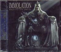 IMMOLATION MAJESTY AND DECAY SEALED CD NEW 2010