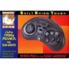 NEW Sega Genesis 6 Button RHINO PAD controller control