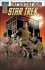 Star Trek Infestation #1 cover B comic  book Zombies TOS TV show series movie